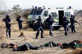 Massacre Afrique du Sud