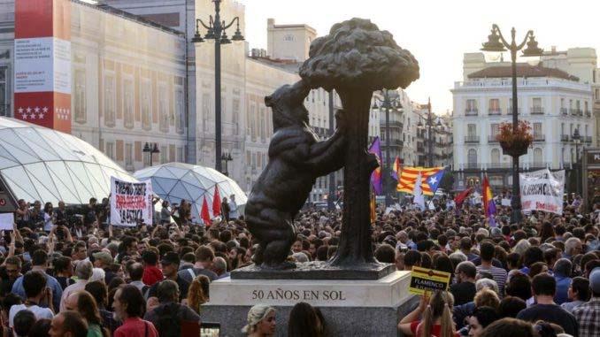 Mobilisation a Madrid, le 21  septembre: «La Catalogne a le droit de décider!»