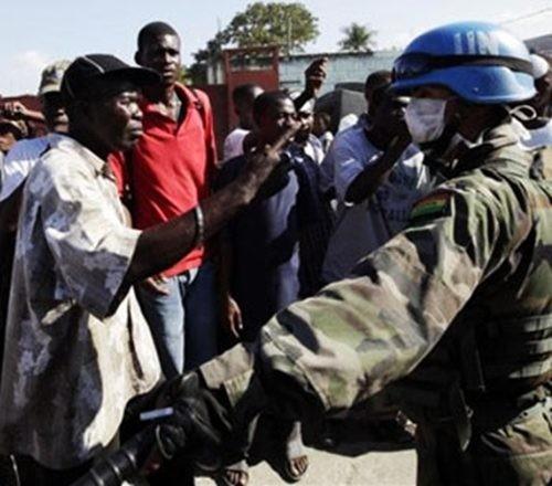 La tragédie du peuple haïtien