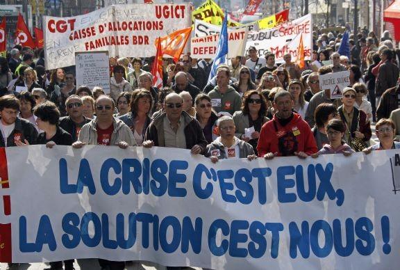 Manif CGT France