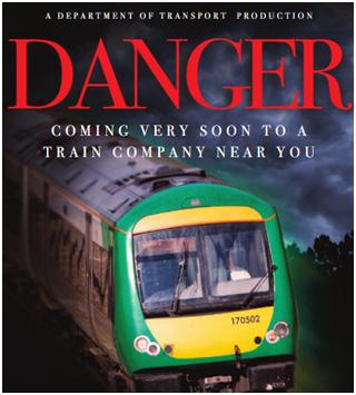 Le DANGER arrivera très bientôt dans une compagnie de trains près de chez vous