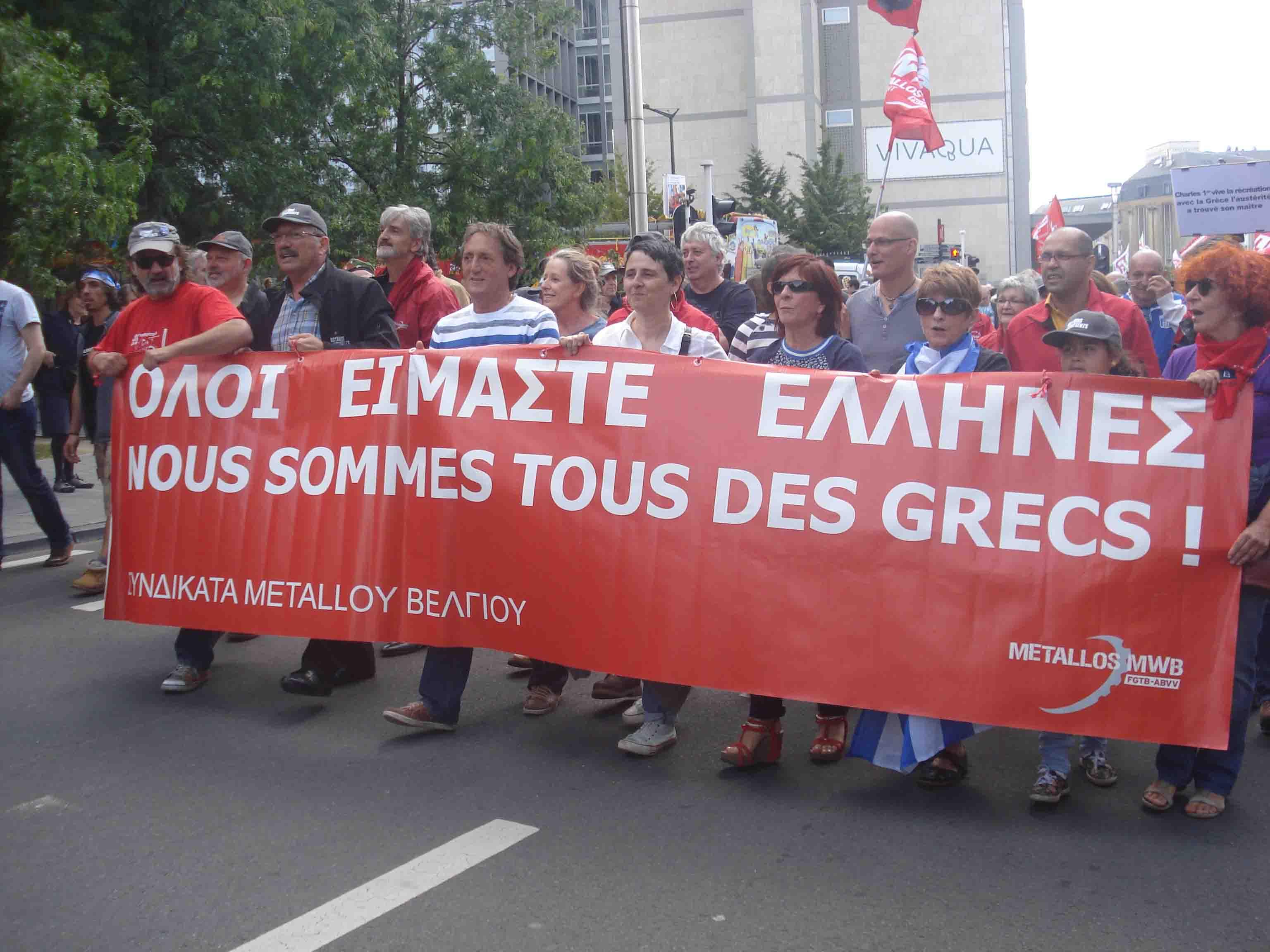 Avec les Grecs