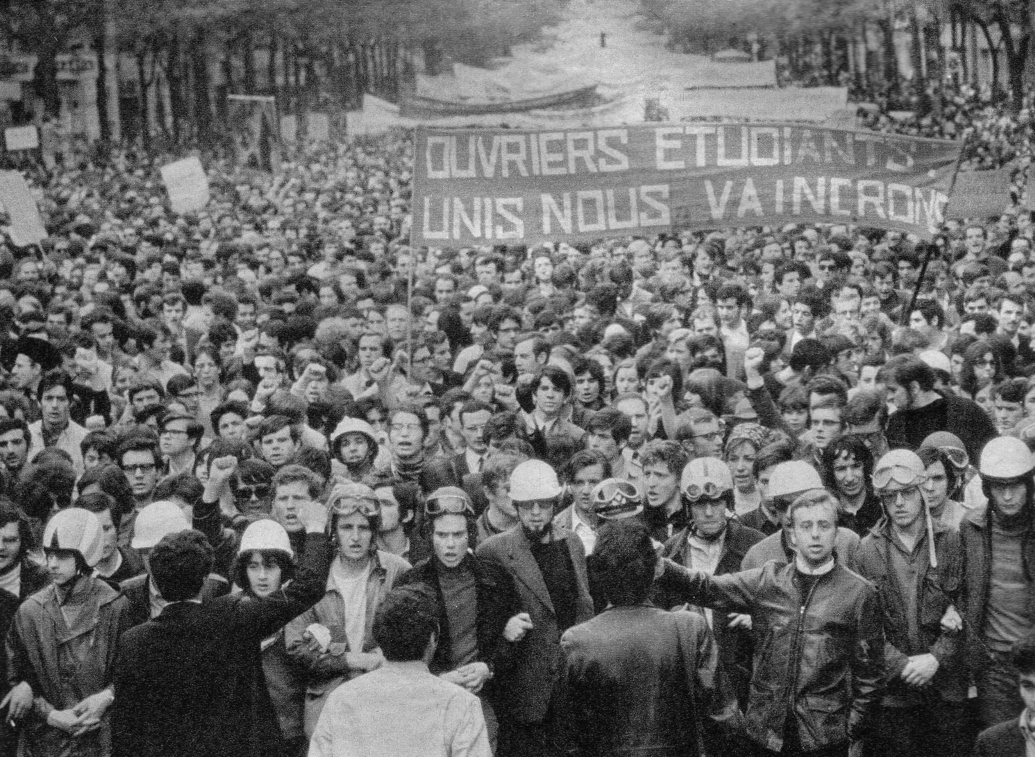Ouvriers et étudiants, unis nous vaincrons