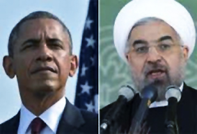 Obama et Hassan Rouhani