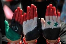 Protestations dans le monde arabe